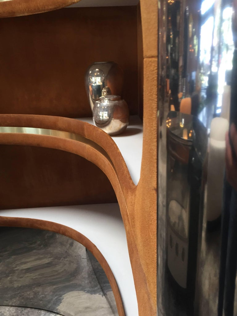 Rare Dry Bar and Storage of Willy Rizzo, Italy, 1970s For Sale 3
