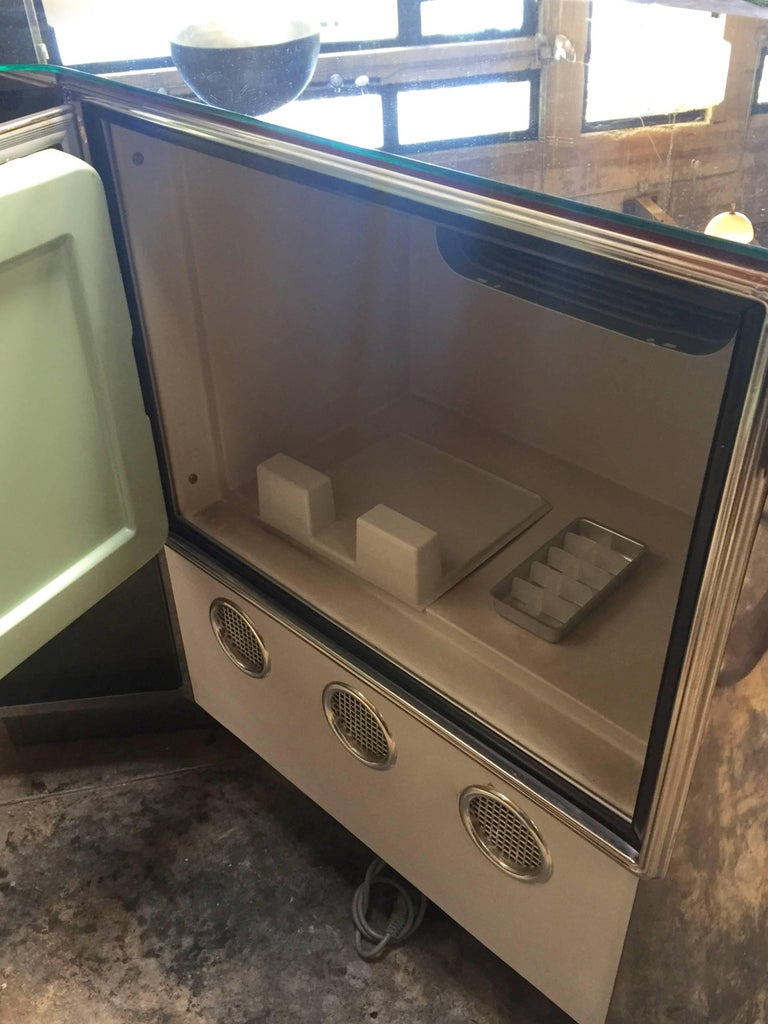Rare Dry Bar and Storage of Willy Rizzo, Italy, 1970s For Sale 5