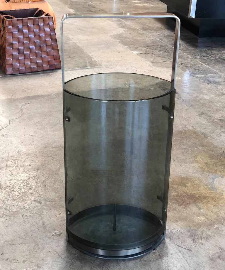 Mid-Century Modern Umbrella Stand by Max Ingrand for Fontana Arte, Italy, 1960s For Sale