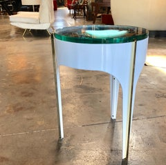 ma+39's Custom Ivory Magnifying Lens End Table