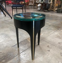 ma+39's Custom Magnifying Lens End Table in black