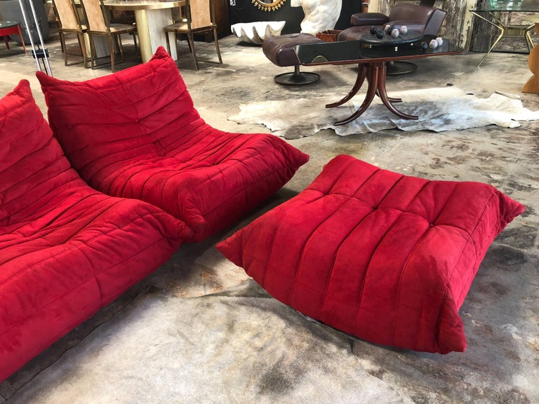 Togo Living Room Set by Michel Ducaroy for Ligne Roset, 1970s For Sale 2