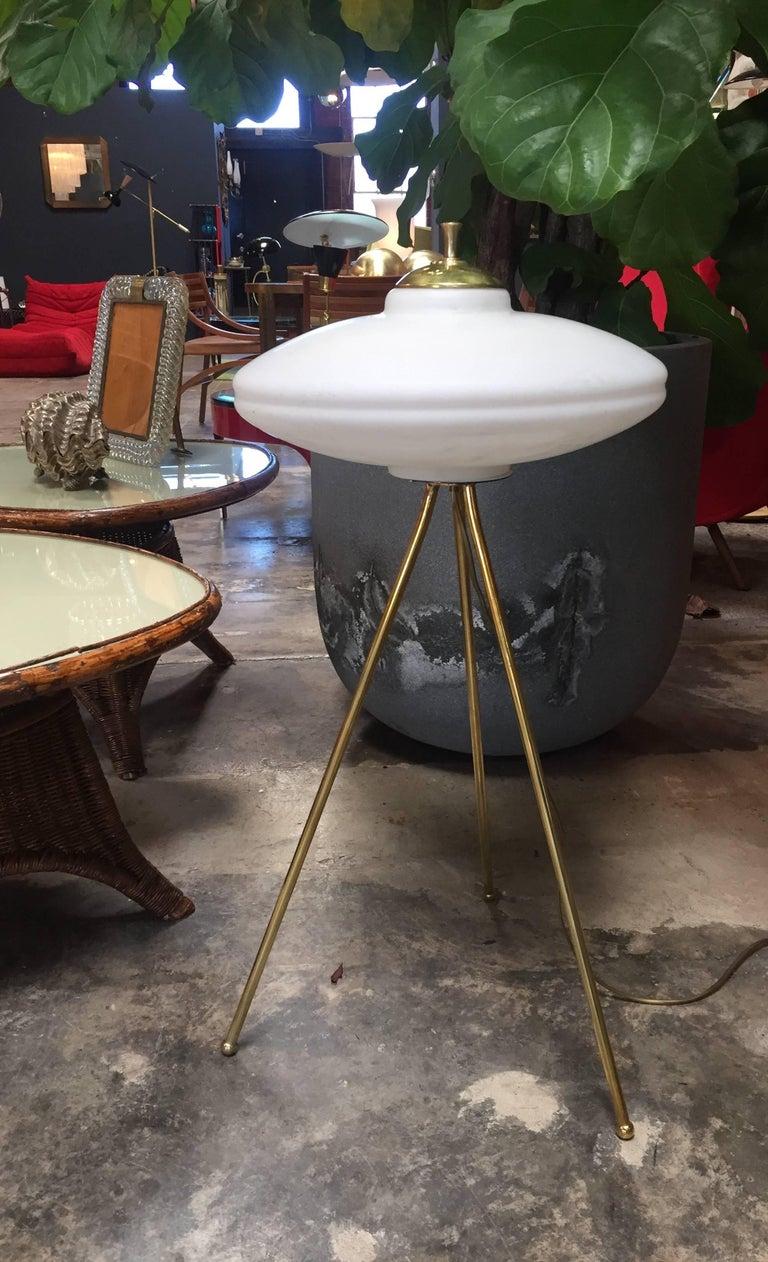 Mid-Century Modern Italian Tripod Floor Lamp, 1960s For Sale