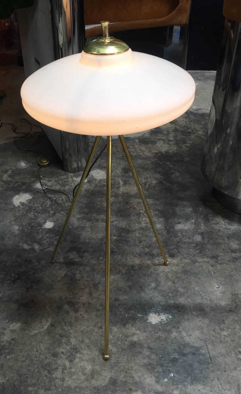 Italian Tripod Floor Lamp, 1960s For Sale 4