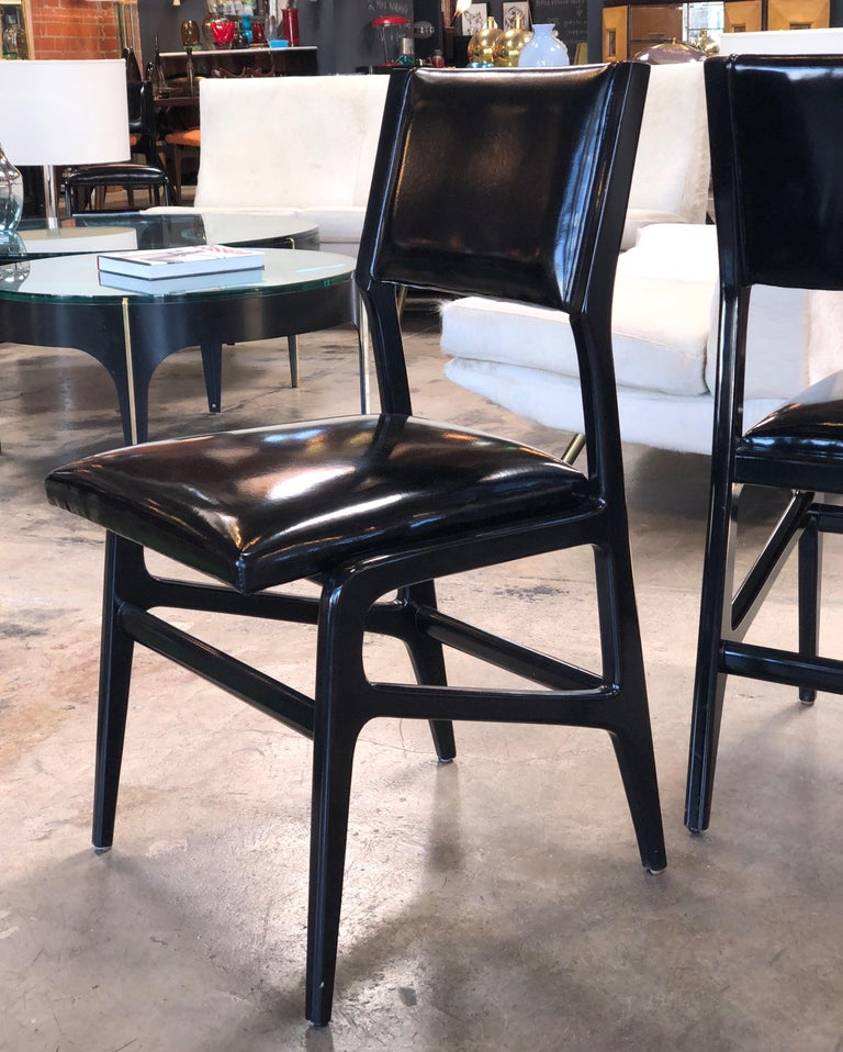 Italian Iconic Gio Ponti Chairs, Italy 1958, Set of Six For Sale