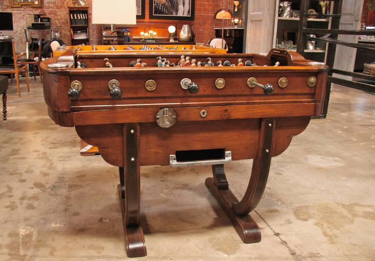 French 1950s Foosball Table 2