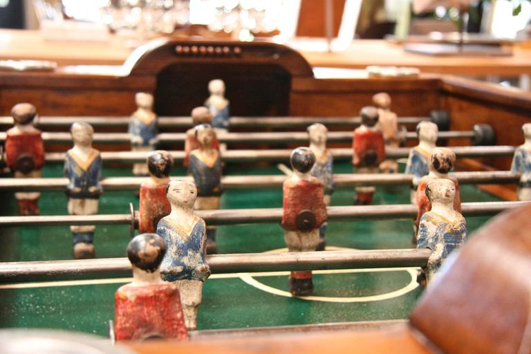 Mid-20th Century French 1950s Foosball Table For Sale