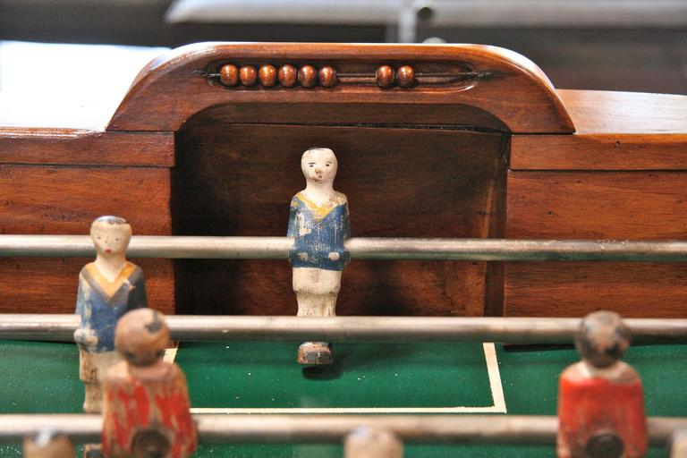 Iron French 1950s Foosball Table For Sale