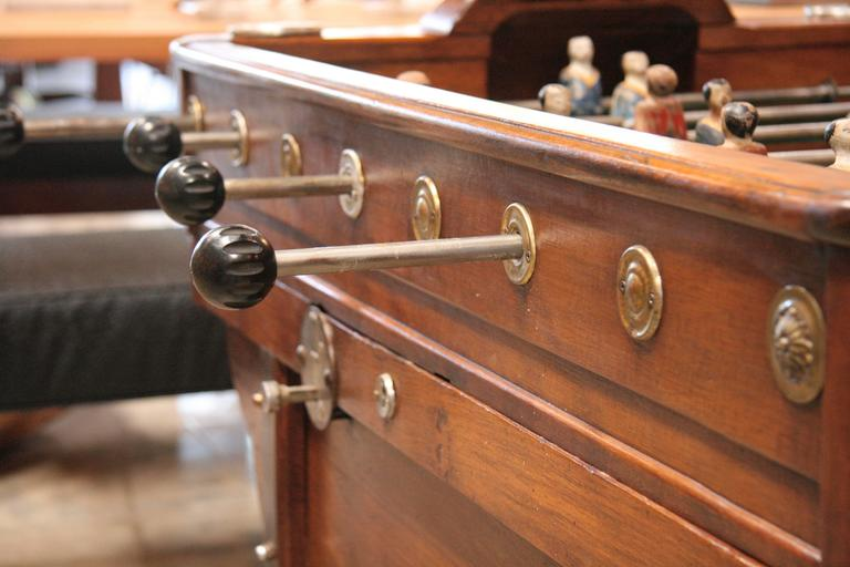 French 1950s Foosball Table 6