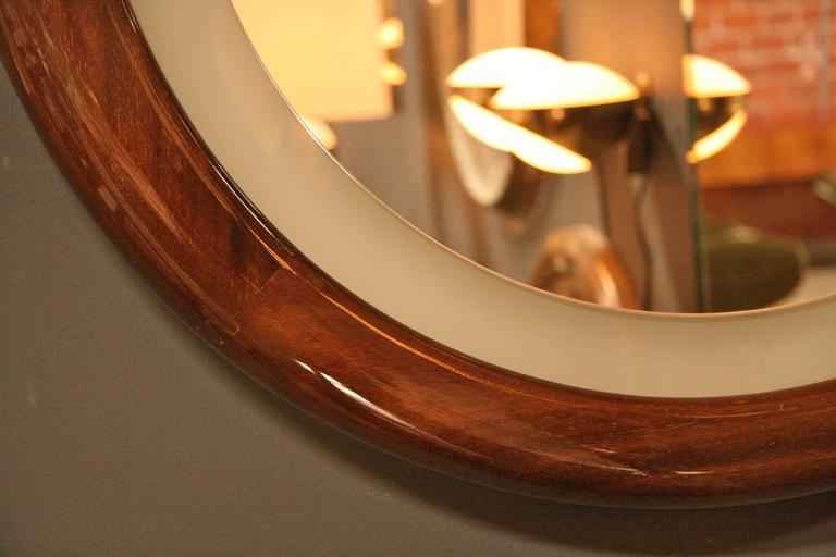 Illuminated Mirror In Excellent Condition For Sale In Los Angeles, CA
