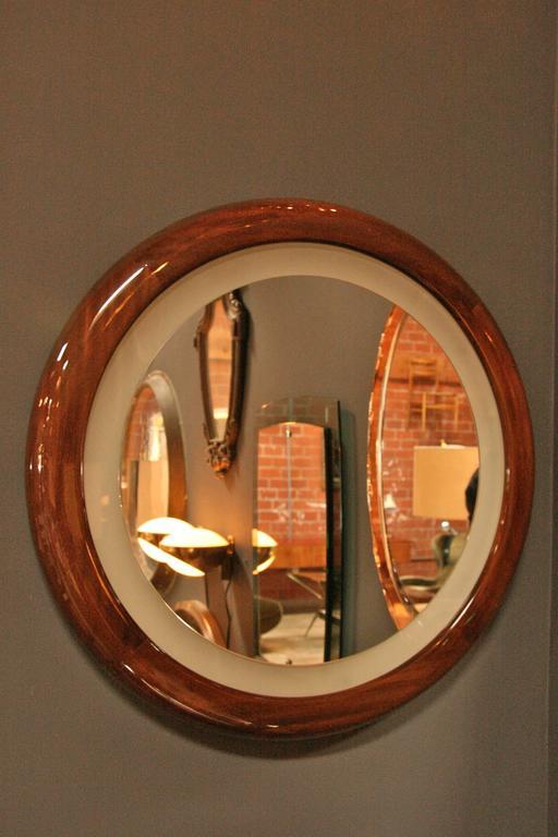 Mid-17th Century Illuminated Mirror For Sale