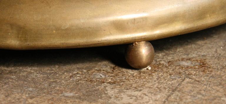 Brass Venini Floor Lamp by Tommaso Buzzi  For Sale