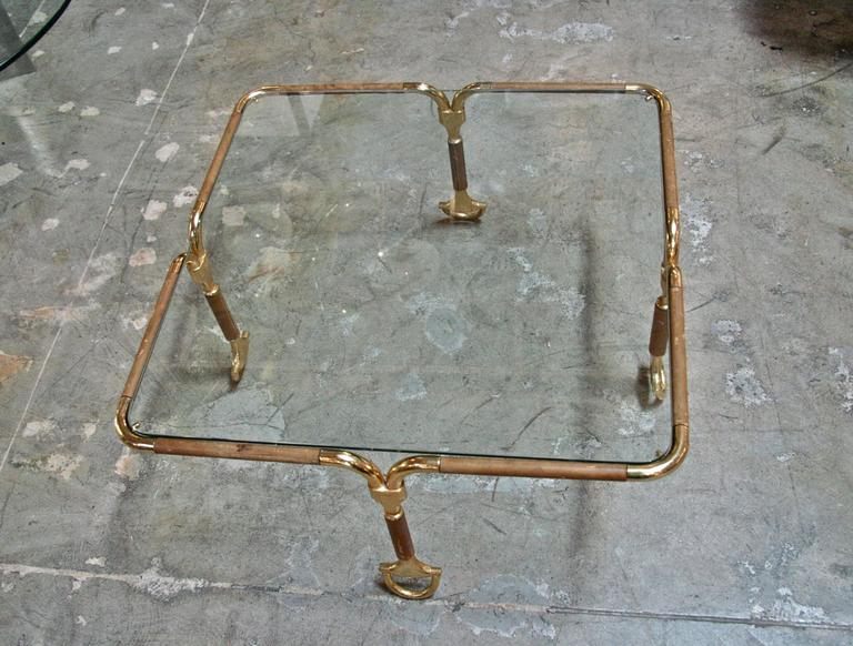 Stunning Rare Gucci Horsebit Coffee Table 3
