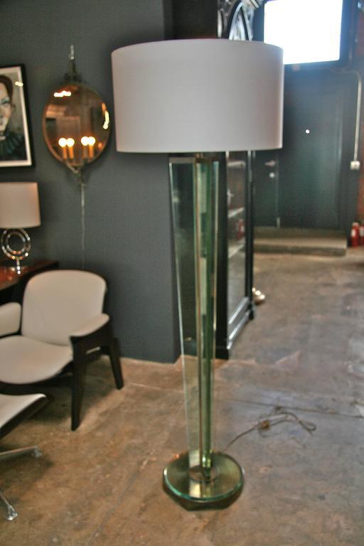 Fabulous Fontana Arte floor light.