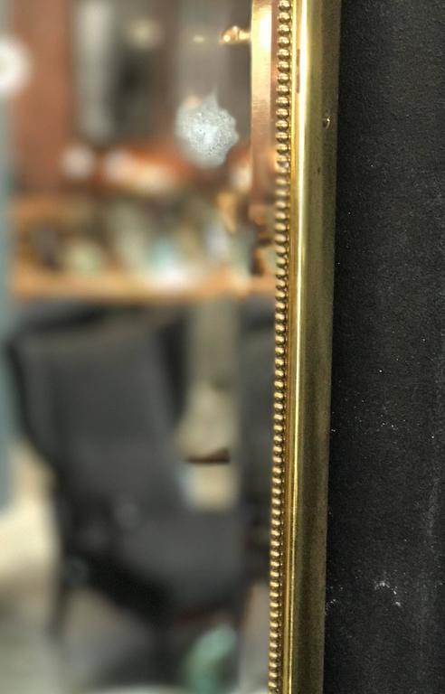 Brass Italian Mirror, 1960s 3