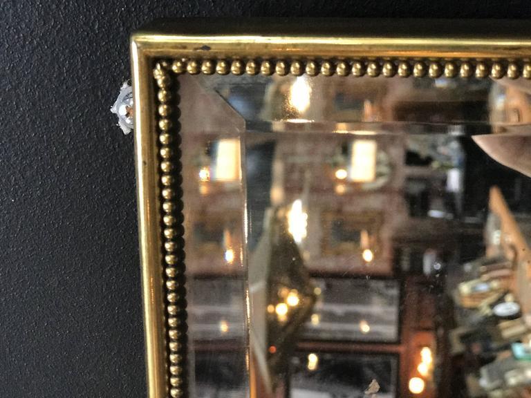 Brass Italian Mirror, 1960s 5