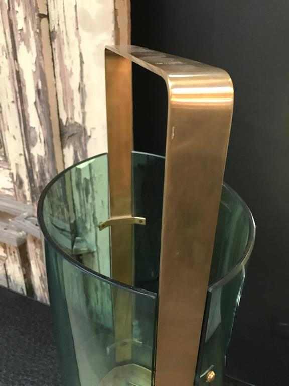 Fontana Arte Umbrella Stand by Max Ingrand For Sale 1