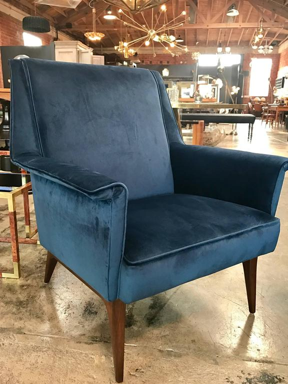 Italian 1960s Blue Armchairs by Anonima Castelli For Sale 2