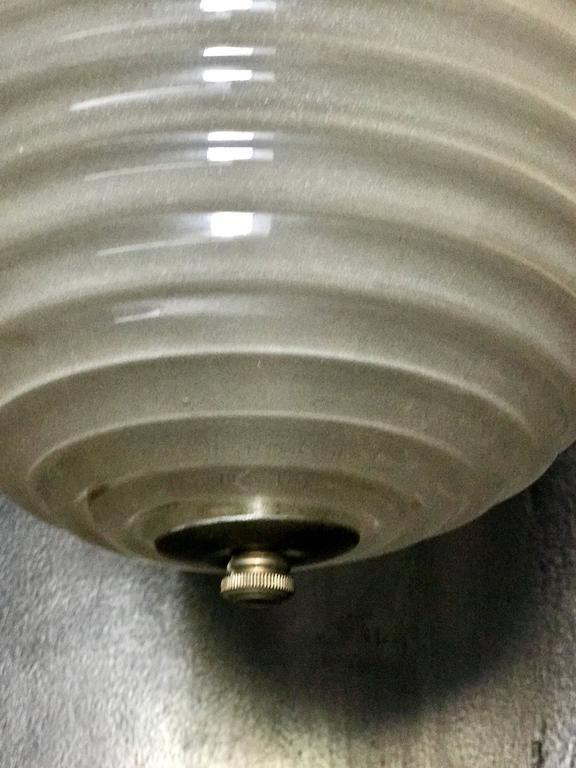 Murano Milk Glass Egg Pendant Light 1960/70 5