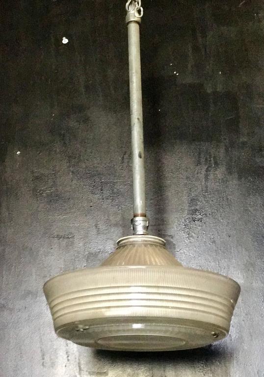 Industrial Pendant Lighting, 1940s 2