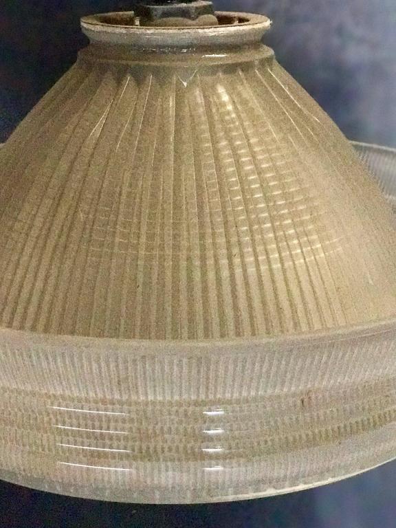 Industrial Pendant Lighting, 1940s 3