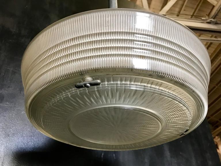 Industrial Pendant Lighting, 1940s 5