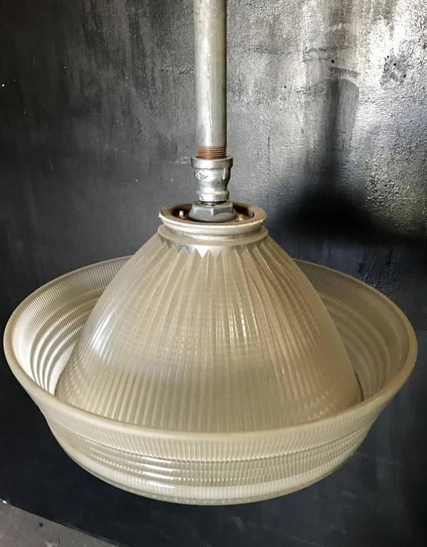 Industrial Pendant Lighting, 1940s 6