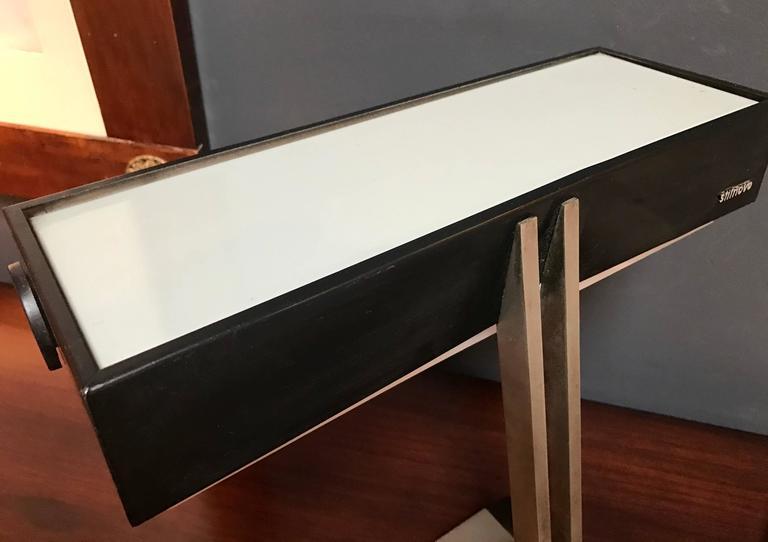 Steel Italian 1950s Stilnovo Desk Lamp For Sale