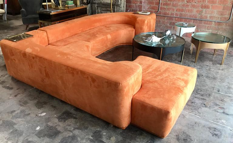 "Sectional Sofa, Two-Piece ""Lara"" by Roberto Pamio, Noti Massari and Renato Toso In Excellent Condition For Sale In Los Angeles, CA"