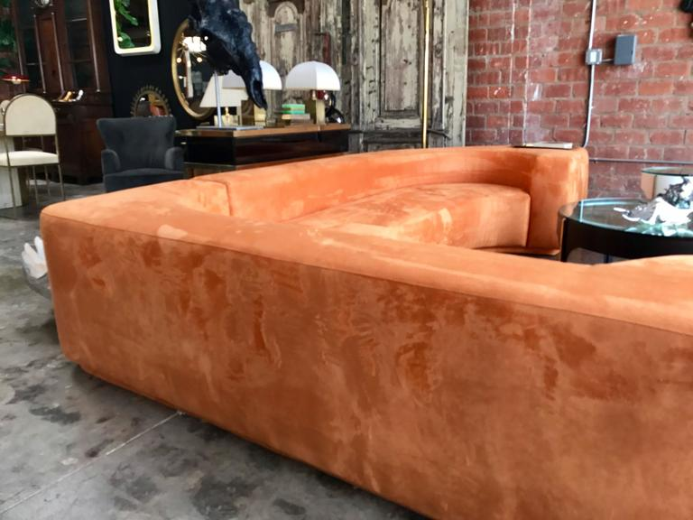 "Sectional Sofa, Two-Piece ""Lara"" by Roberto Pamio, Noti Massari and Renato Toso For Sale 4"