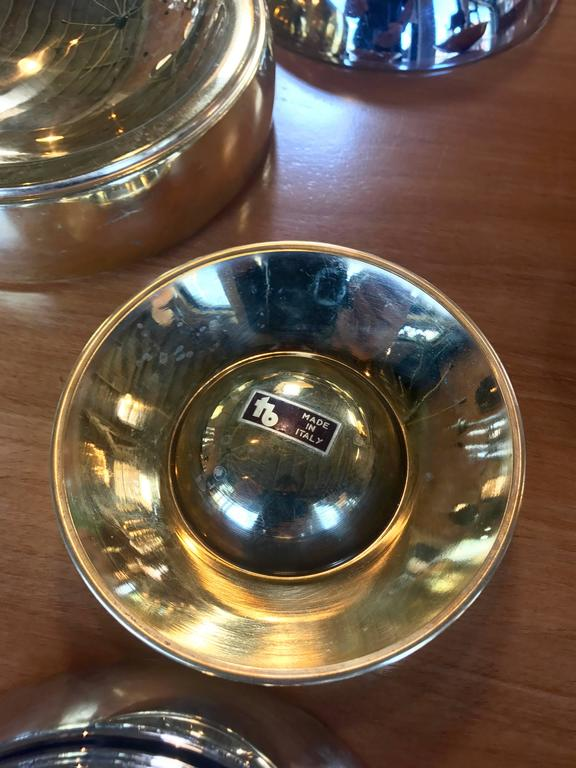 Late 20th Century Tommaso Barbi Trays Bowls, Italy, circa 1970s For Sale