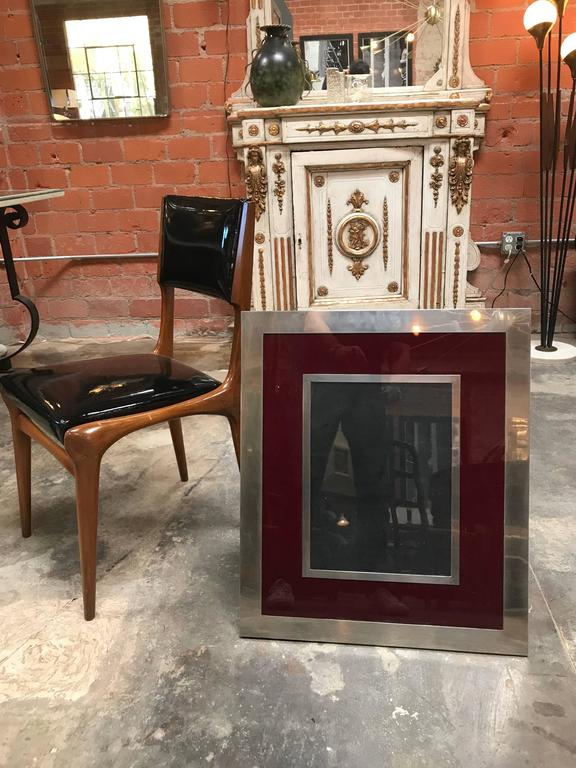 Giant Italian Vintage Modern Picture Frame, Italy, 1970s 6