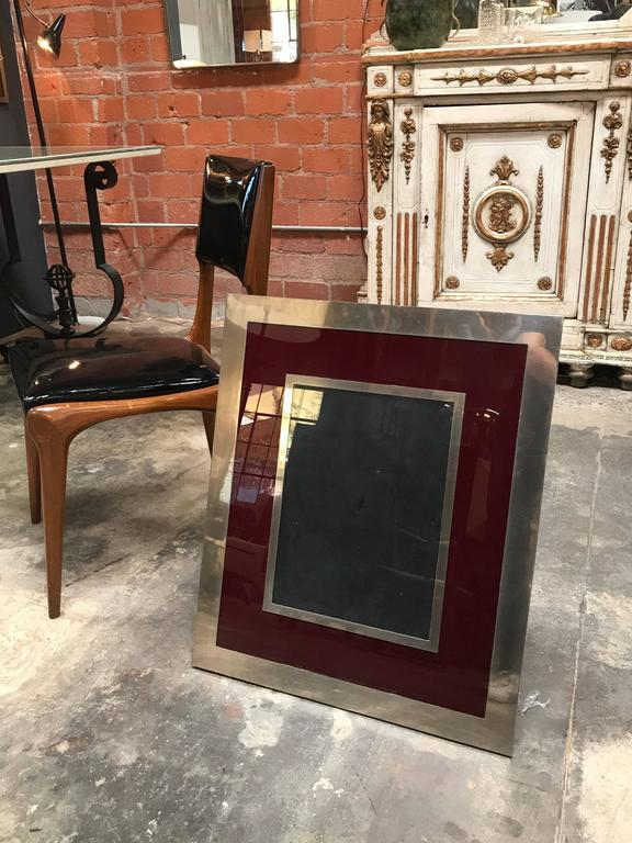 Giant Italian Vintage Modern Picture Frame, Italy, 1970s For Sale 3