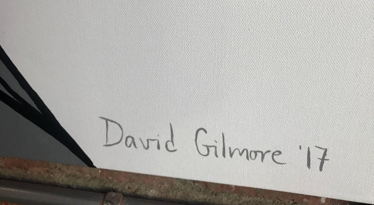 Painting on Canvas by David Gilmore 5