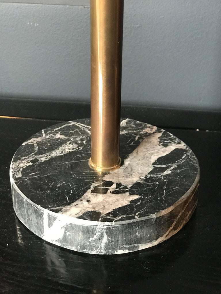 Italian Table Lamp with Marble Base For Sale 1