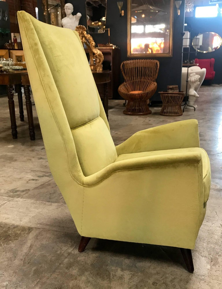 Mid-20th Century Italian Absolutely Fabulous Armchairs by ISA For Sale