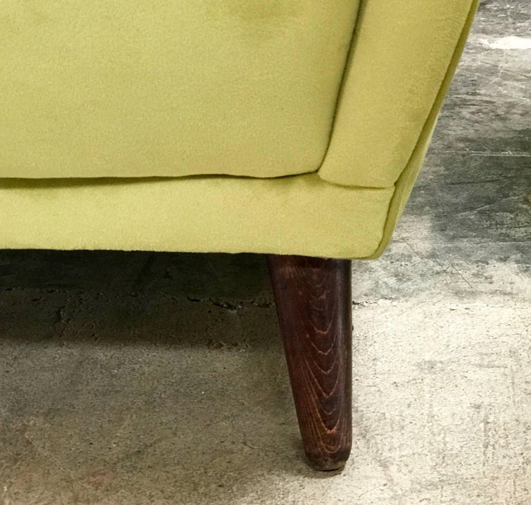 Italian Absolutely Fabulous Armchairs by ISA For Sale 3