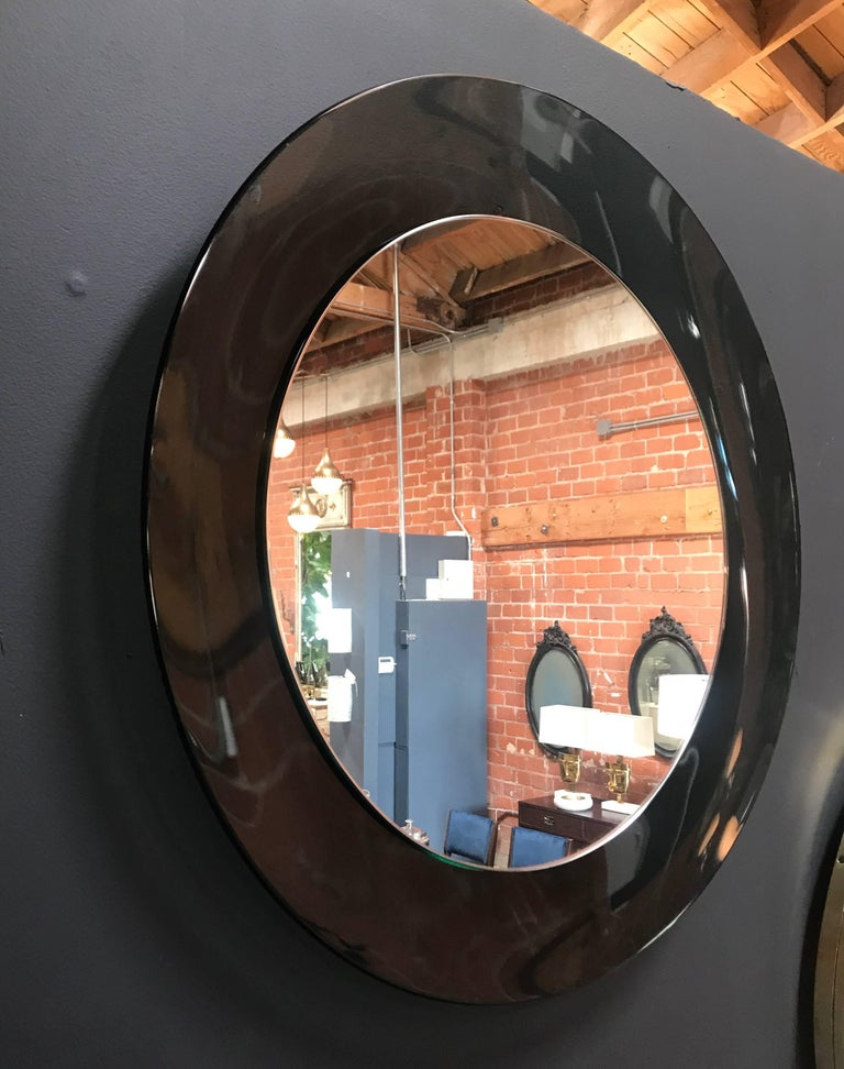 Italian Gray Mirror, 1960s 2