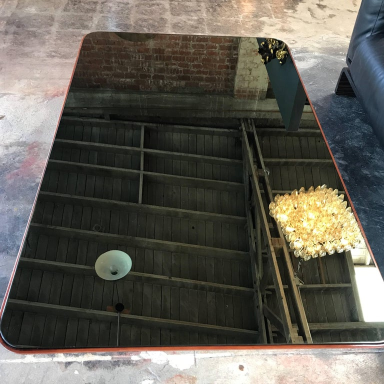 Mirror Coffee Table by Pietro Chiesa for Fontana Arte, 1950 For Sale 1