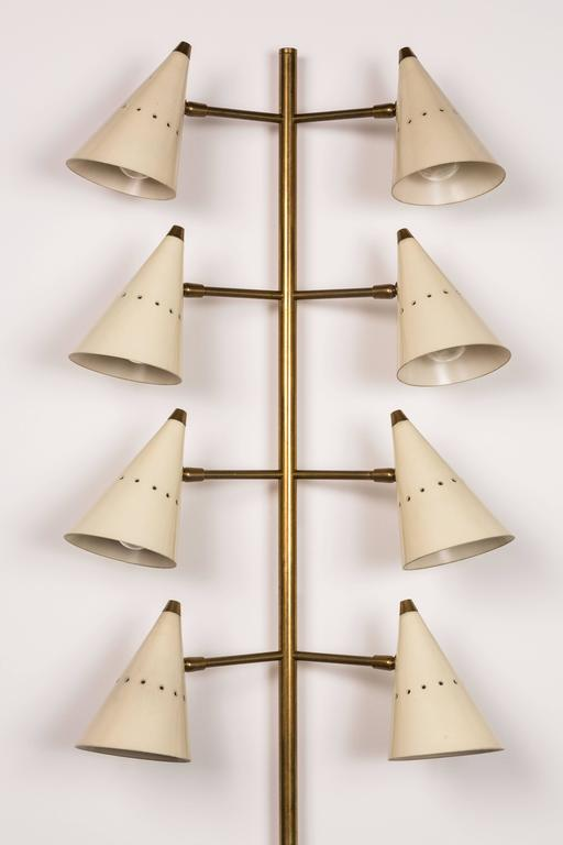 Italian Wall Lights by Stilnovo For Sale
