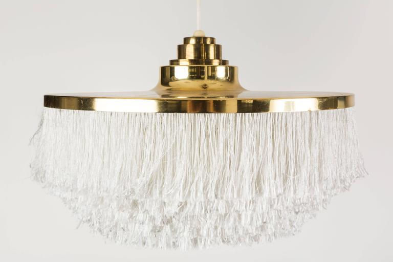 Pair of Fringe Pendants by Hans Agne Jakobsson, Markaryd 3