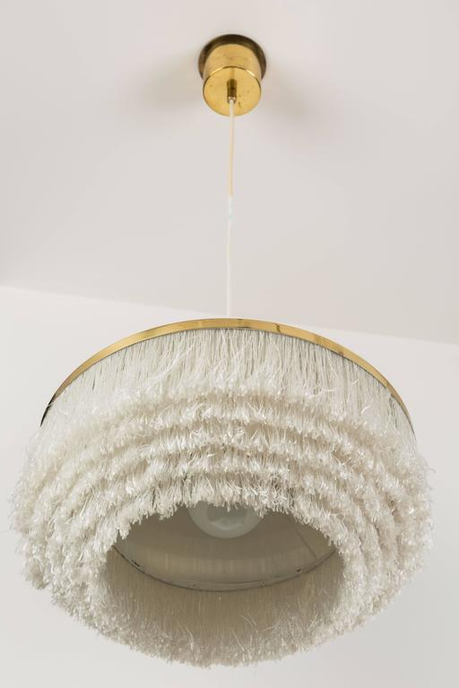 Pair of Fringe Pendants by Hans Agne Jakobsson, Markaryd In Excellent Condition For Sale In Los Angeles, CA