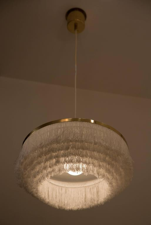 Pair of Fringe Pendants by Hans Agne Jakobsson, Markaryd 2