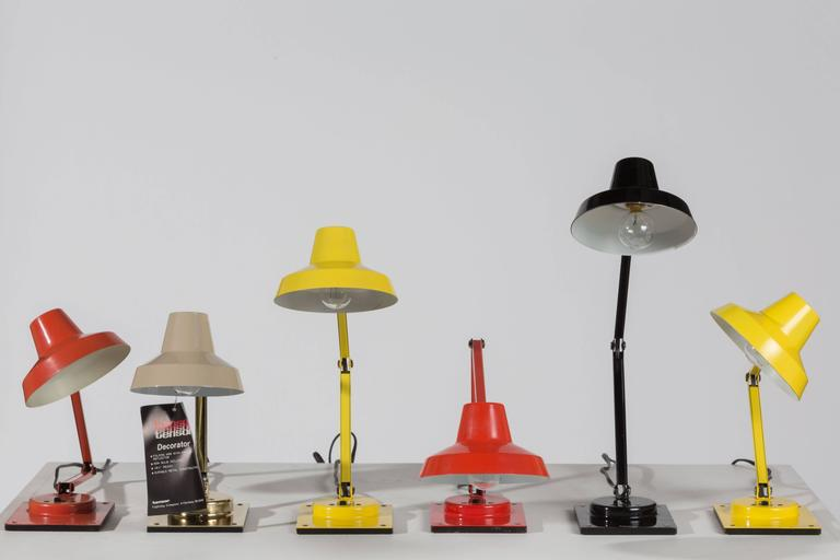 Collection of Model IL 400 Table Lamps by Jay Monroe for Tensor at ...