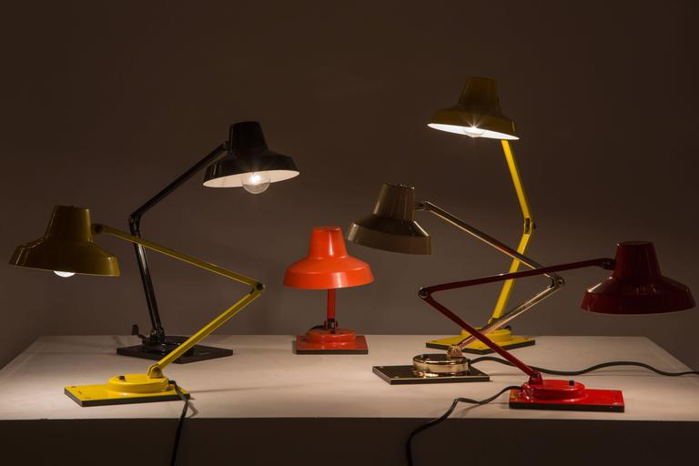 Collection Of Model Il 400 Table Lamps By Jay Monroe For