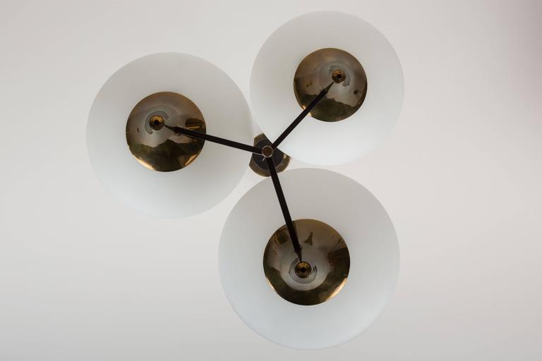 Three-Arm Chandelier by Stilnovo 3