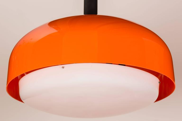 "Monumental ""KD 62"" Ceiling Light by Eugenio Gentile Tedeschi for Kartell 4"