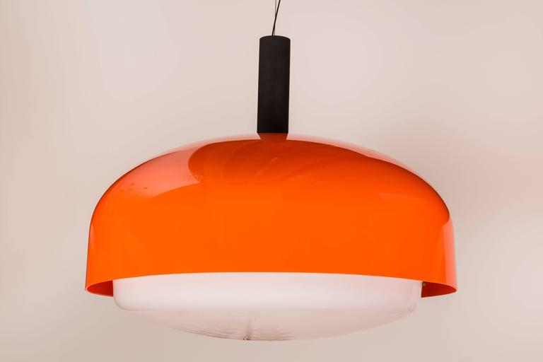 "Monumental ""KD 62"" Ceiling Light by Eugenio Gentile Tedeschi for Kartell 5"