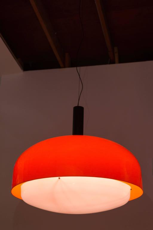 "Monumental ""KD 62"" Ceiling Light by Eugenio Gentile Tedeschi for Kartell 3"