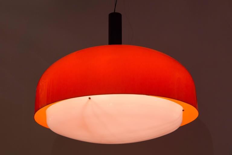 "Monumental ""KD 62"" Ceiling Light by Eugenio Gentile Tedeschi for Kartell 2"
